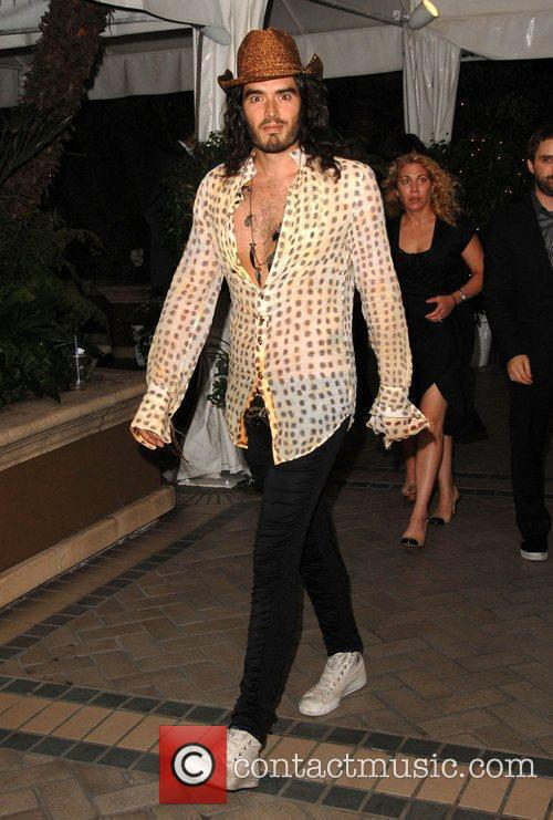 Russell Brand Los Angeles BritWeek 2009 culminates with...