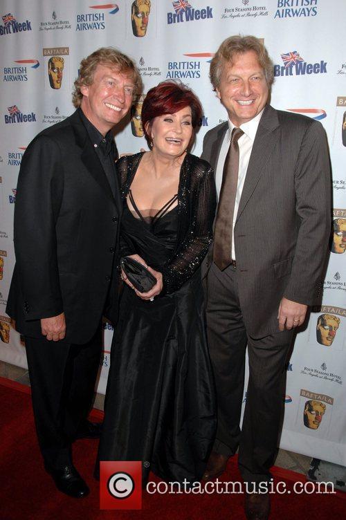 Sharon Osbourne, Nigel Lythgoe and guest Los Angeles...