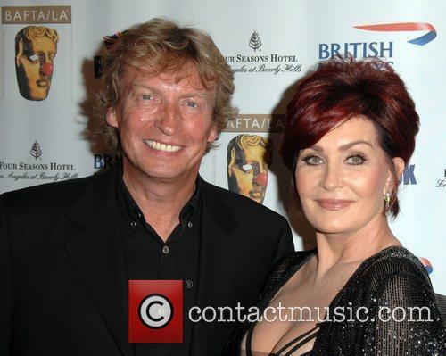 Sharon Osbourne and Nigel Lythgoe Los Angeles BritWeek...