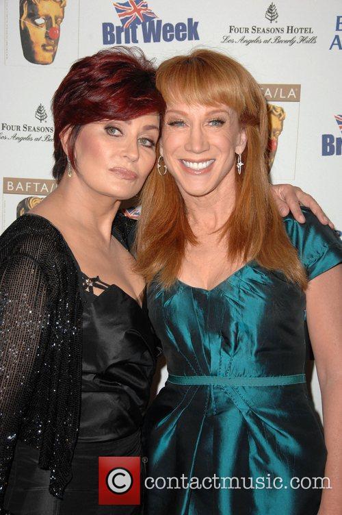 Sharon Osbourne and Kathy Griffin Los Angeles BritWeek...