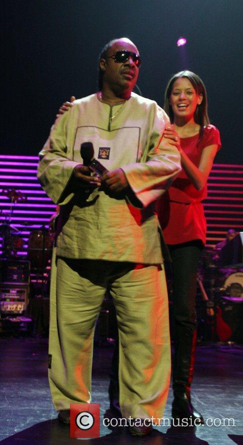 Stevie Wonder and Keisha Whitaker 3