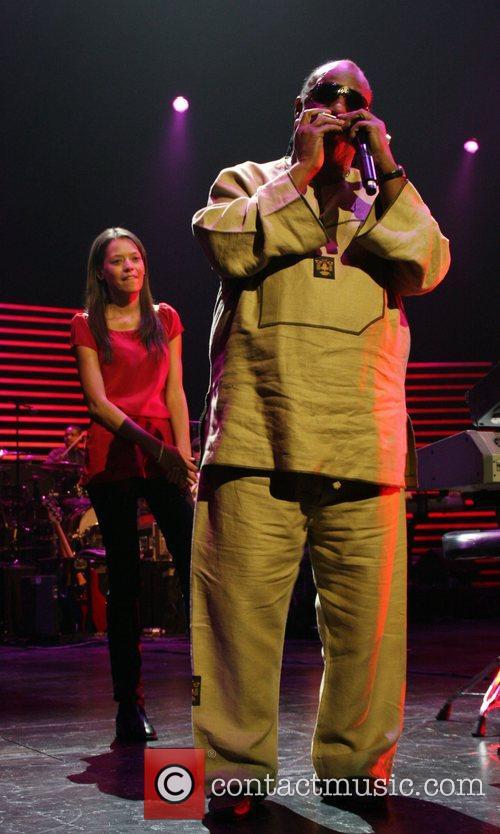 Stevie Wonder and Keisha Whitaker 9