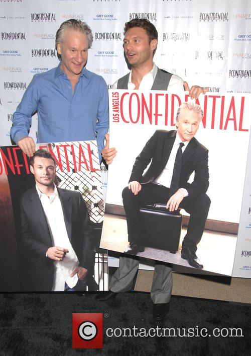 Bill Maher and Ryan Seacrest A celebration of...