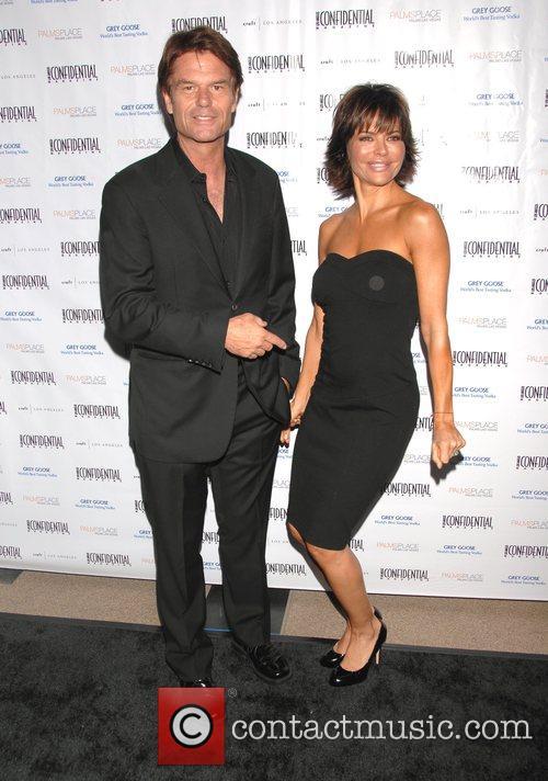 Harry Hamlin and Lisa Rinna A celebration of...