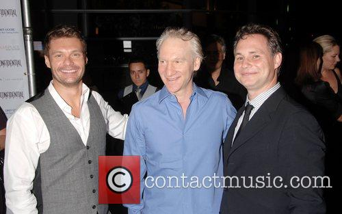 Ryan Seacrest, Bill Maher and guest A celebration...