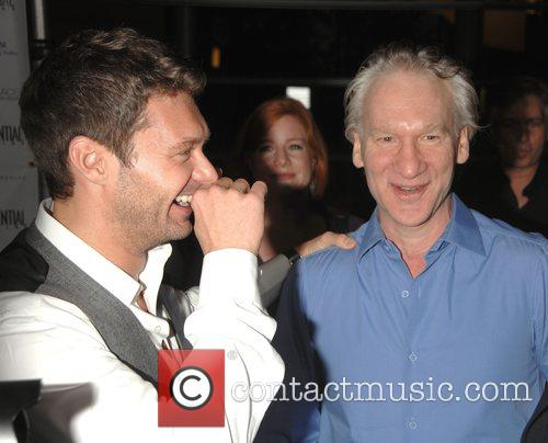Ryan Seacrest and Bill Maher A celebration of...