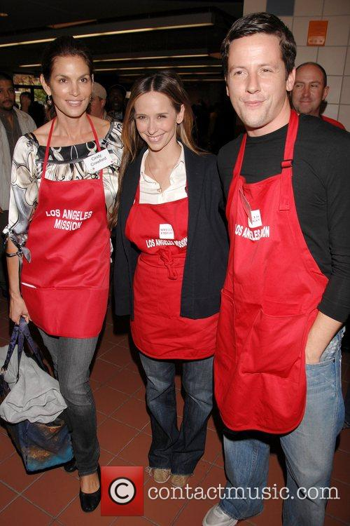 Cindy Crawford, Jennifer Love Hewitt and Ross McCall...
