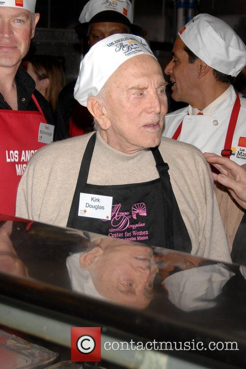 Kirk Douglas LA Mission and Anne Douglas Center's...