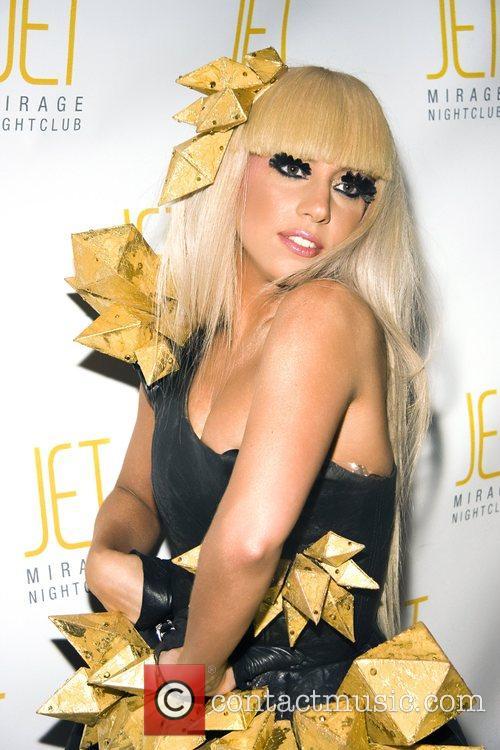 Lady GaGa AKA Joanne Stefani Germanotta makes a...