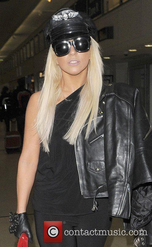 Joanne Stefani Germanotta aka Lady GaGa arrives at...