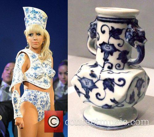 What a potty outfit... Lady GaGa resembles a...