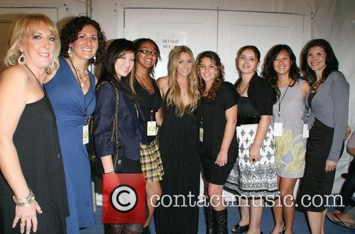 Lauren Bosworth and guests Mercedes-Benz LA Fashion Week...