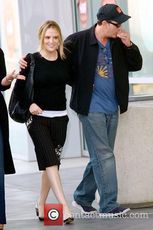 Brooke Mueller and Charlie Sheen 4