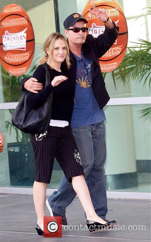 Brooke Mueller and Charlie Sheen 1