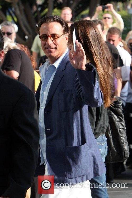 Andy Garcia and Guest Celebrities arrive to watch...