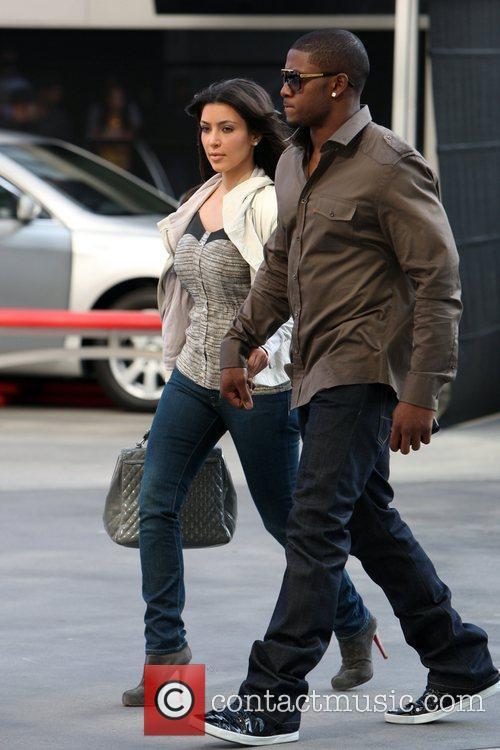 Kim Kardashian and Reggie Bush 9