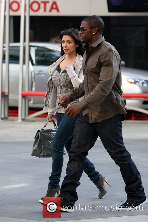 Kim Kardashian and Reggie Bush 6