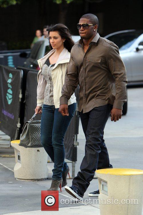Kim Kardashian and Reggie Bush 8
