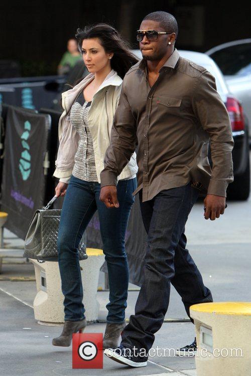 Kim Kardashian and Reggie Bush 5