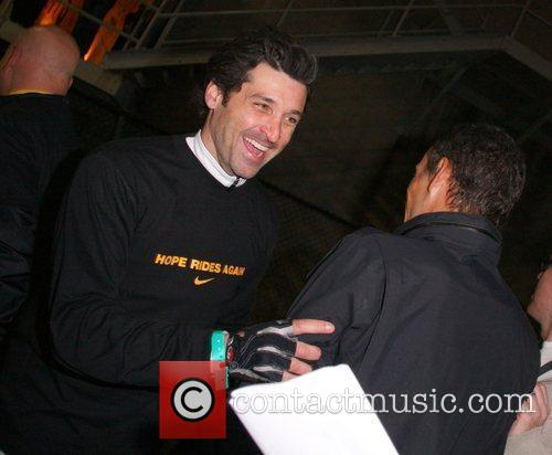 Patrick Dempsey Lance Armstrong and Nike Sportswear launch...