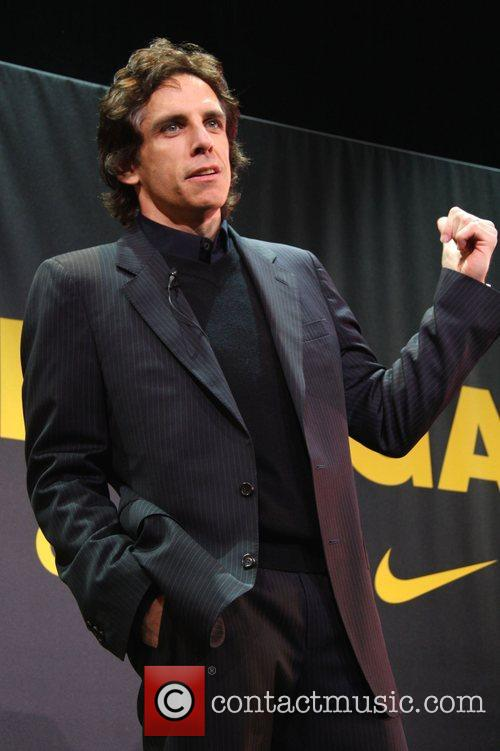 Ben Stiller Lance Armstrong and Nike Sportswear launch...