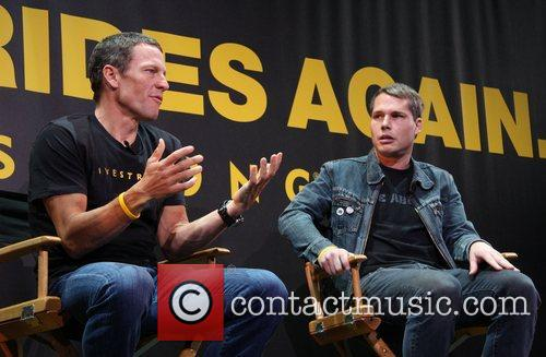 Lance Armstrong and Shepard Fairey 1
