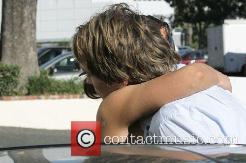 larry birkhead meets a female friend for lunch at la petite four in west hollywood 5211706
