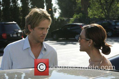 larry birkhead meets a female friend for lunch at la petite four in west hollywood 5211714