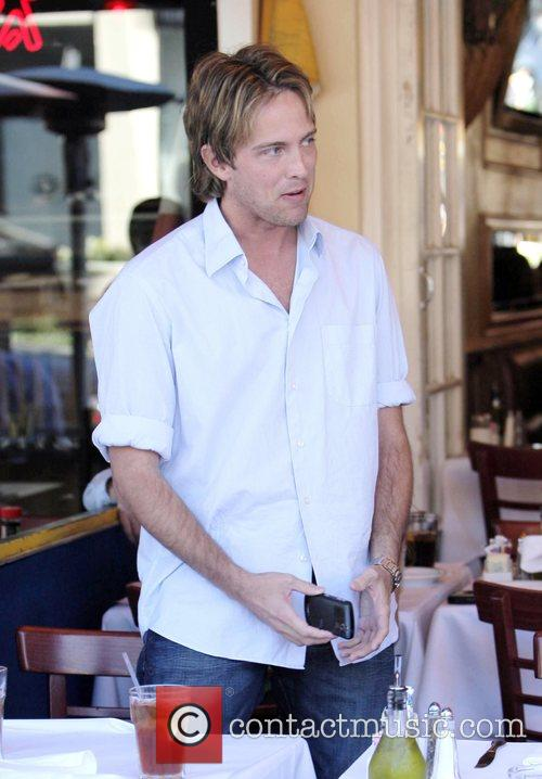 larry birkhead meets a female friend for lunch at la petite four in west hollywood 2180160