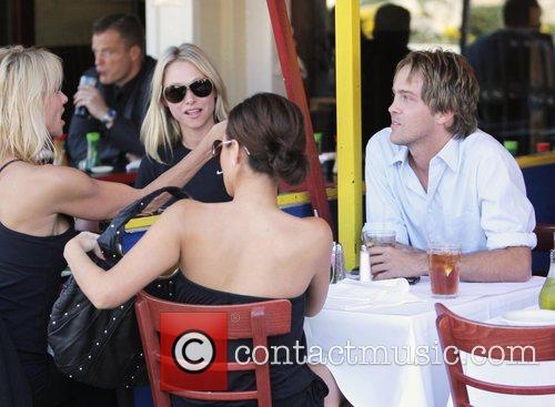 larry birkhead meets a female friend for lunch at la petite four in west hollywood 2180163