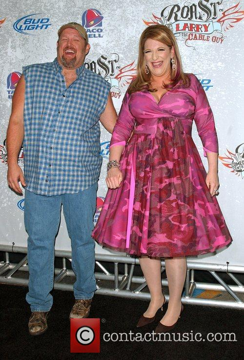 Larry The Cable Guy and Lisa Lampanelli 5