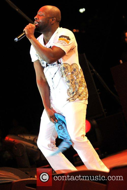 Wyclef Jean performs at the Last Chance for...