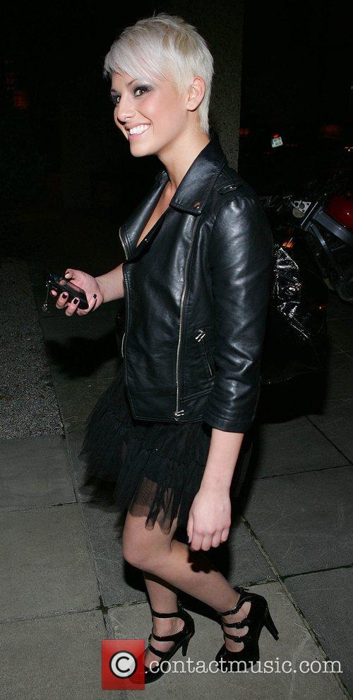 Kasey Smith leaving RTE studios where her new...