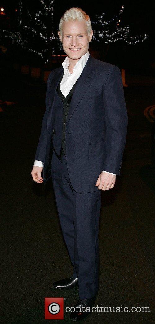 Ryhdian Roberts leaving RTE studios where he appeared...