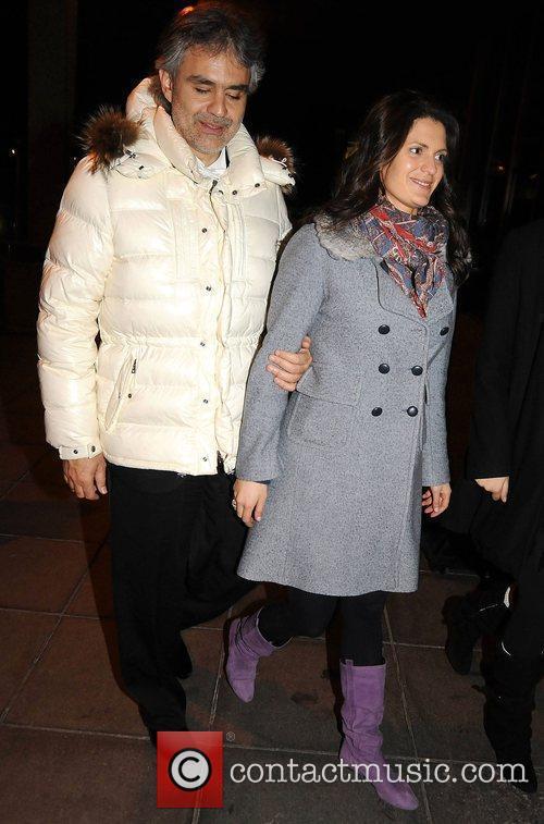 Andrea Bocelli, Veronica Berti and Rte Studios 3