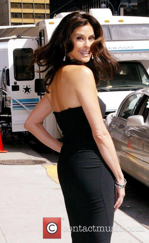 Teri Hatcher and David Letterman 7