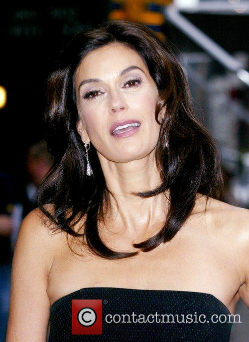 Teri Hatcher, David Letterman, Ed Sullivan Theatre