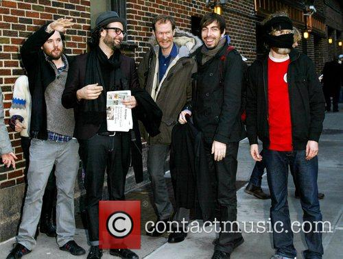 Broken Social Scene and David Letterman 2