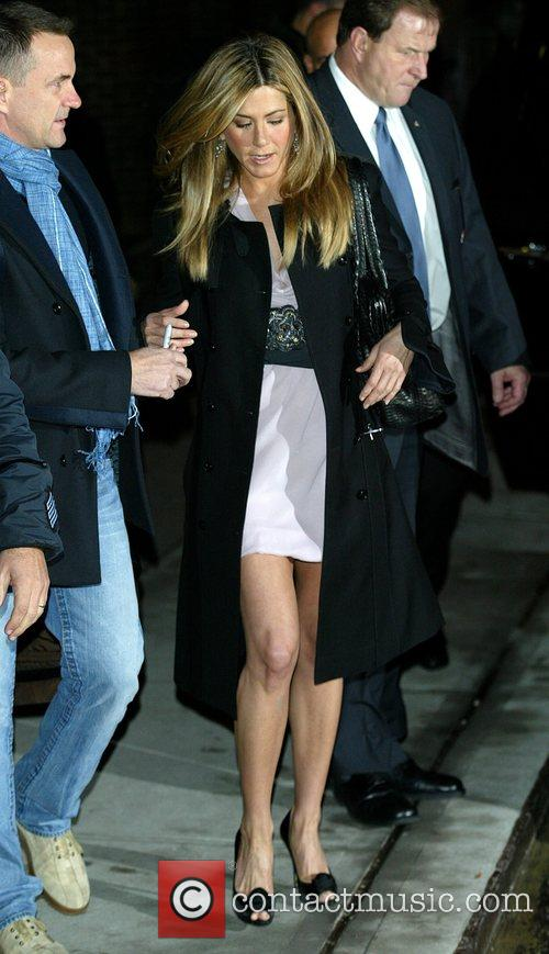 Jennifer Aniston and David Letterman 12