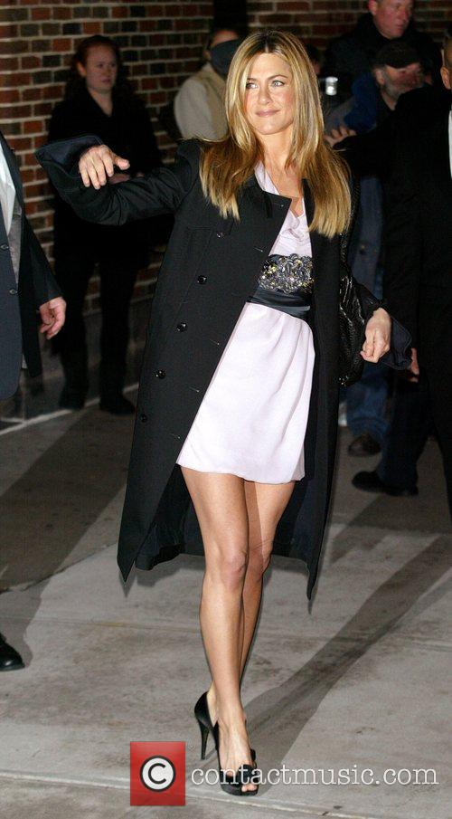 Jennifer Aniston and David Letterman 16