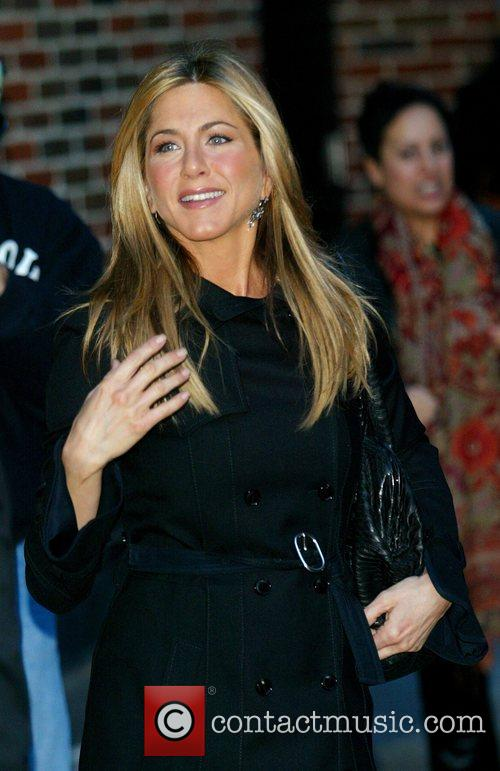 Jennifer Aniston and David Letterman 13