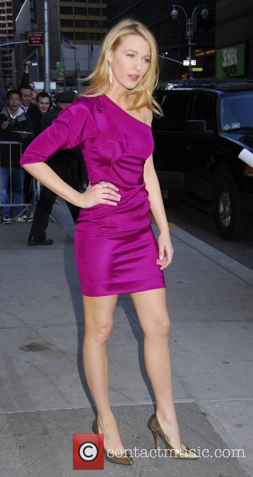 Blake Lively and David Letterman 7