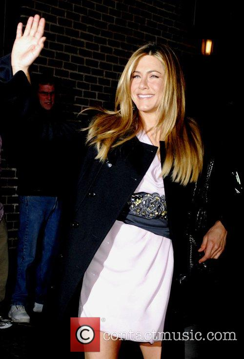 Jennifer Aniston and David Letterman 18