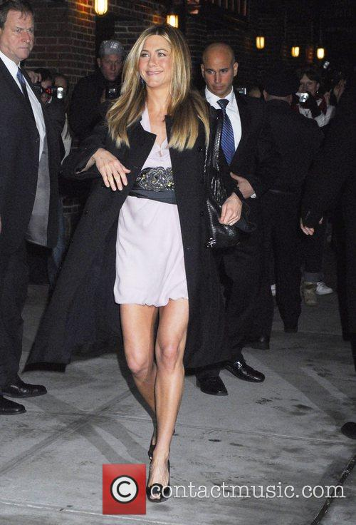 Jennifer Aniston and David Letterman 23