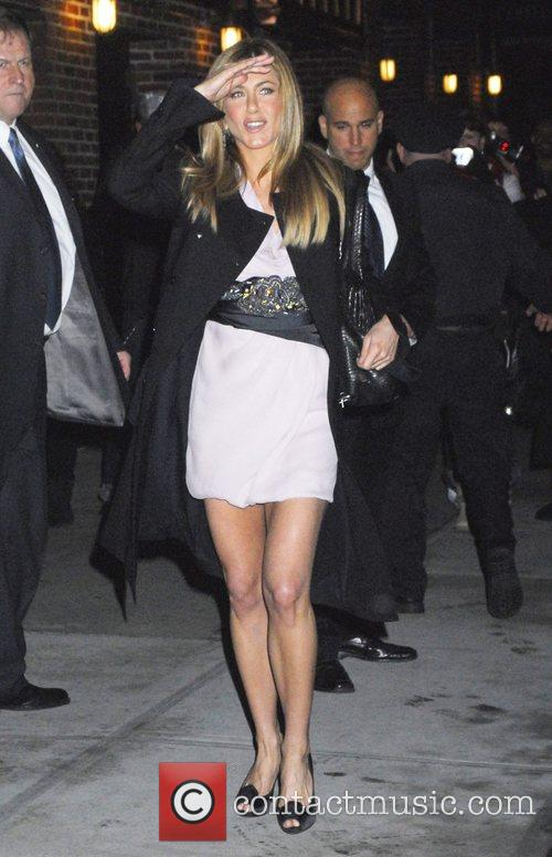 Jennifer Aniston and David Letterman 24