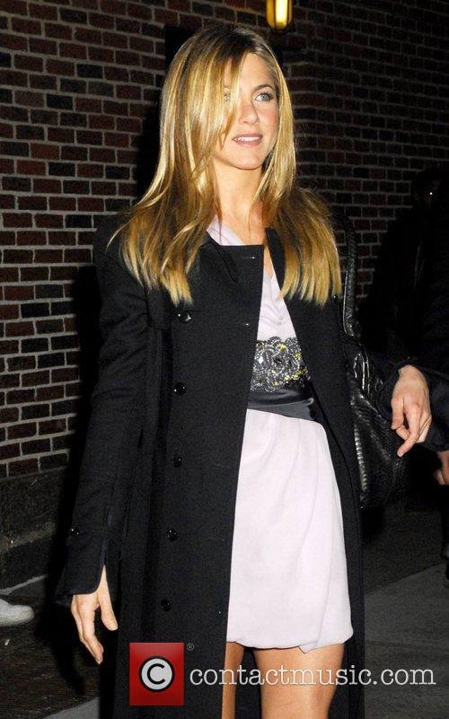 Jennifer Aniston and David Letterman 22