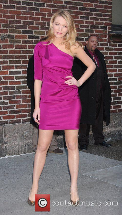Blake Lively and David Letterman 14