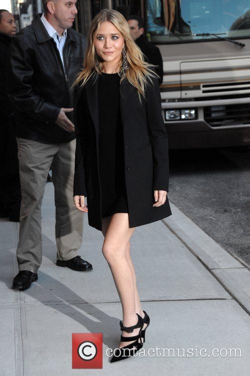 Ashley Olsen and David Letterman 2