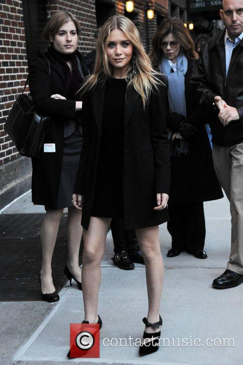 Ashley Olsen, David Letterman, Ed Sullivan Theatre
