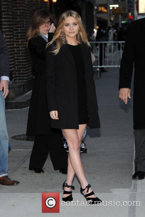 Ashley Olsen and David Letterman 1